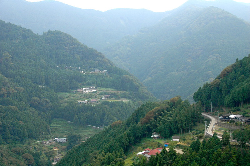 View of Japan's rural area
