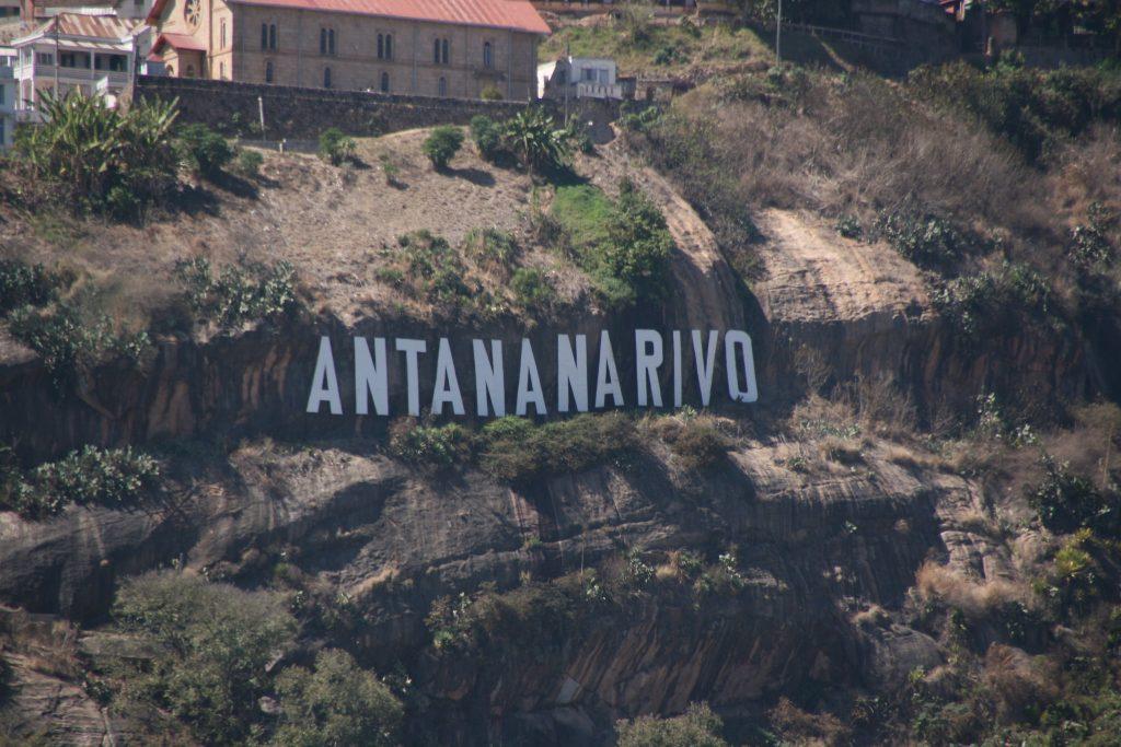 Antananarivo sign