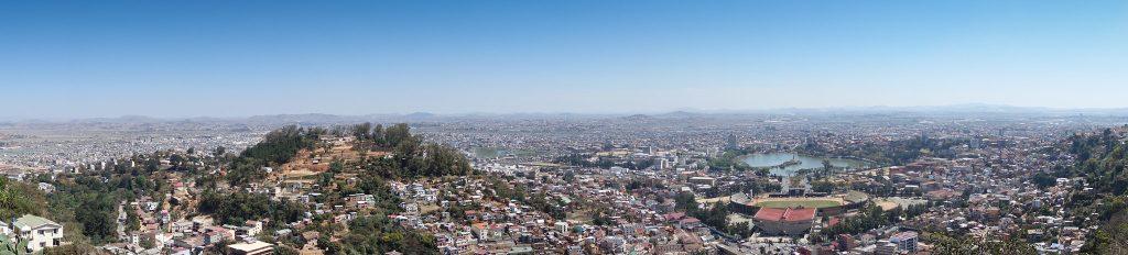 City view of Antananarivo